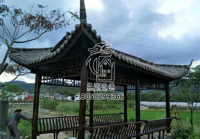 福州古建游廊