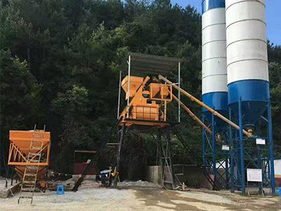 HZS35混凝土搅拌站