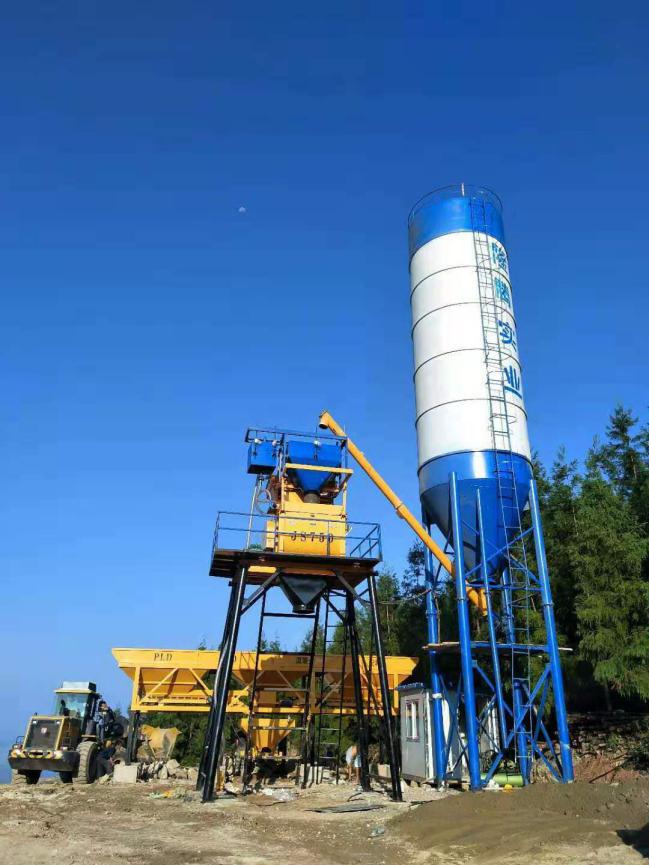 HZS35型混凝土攪拌站