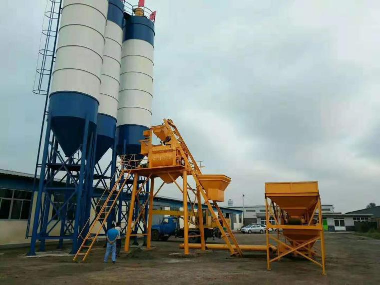 HZS50型混凝土攪拌站
