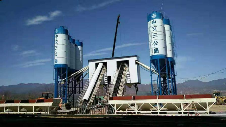 HZS240型混凝土攪拌站