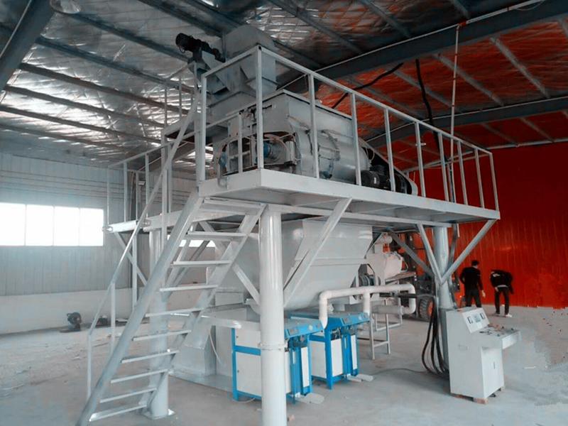 年产3万吨干粉砂浆站
