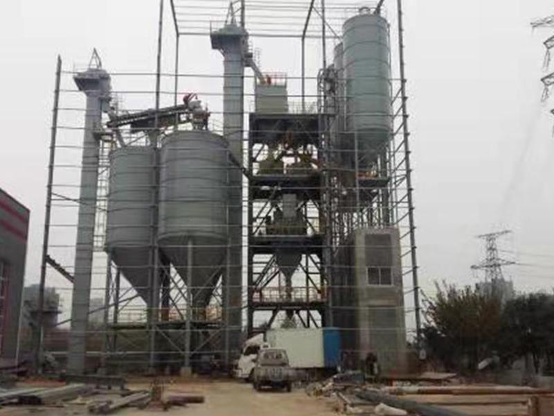 年产20万吨干粉砂浆搅拌站