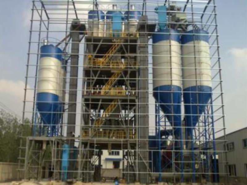 年产50万吨干粉砂浆搅拌站