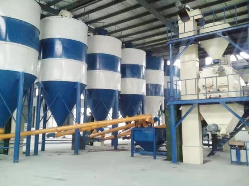 全自动干粉砂浆设备