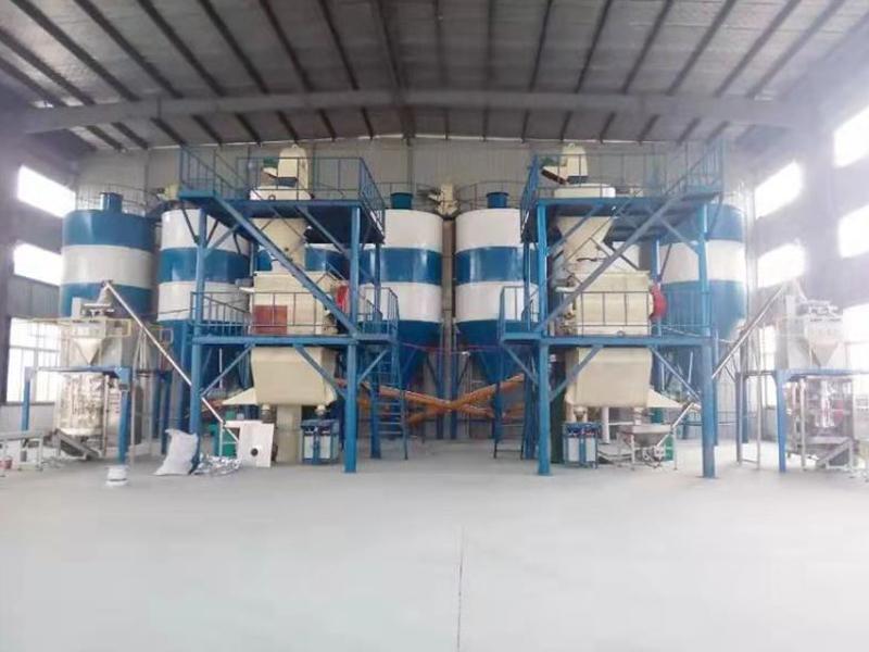 雙配套年產5萬噸干粉砂漿站