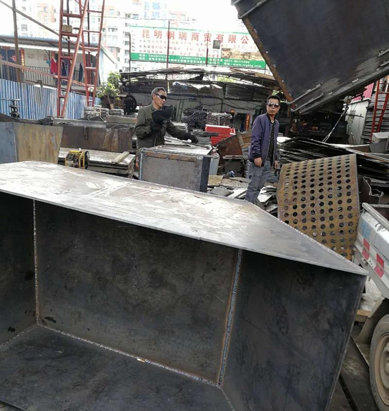 昆明钢板加工