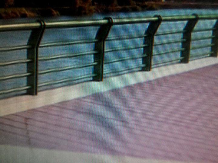 桥梁护栏支撑板