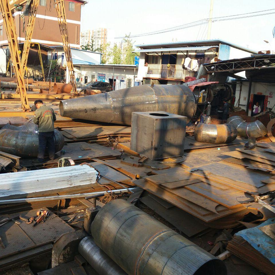 云南钢板加工厂家焊除尘器成品