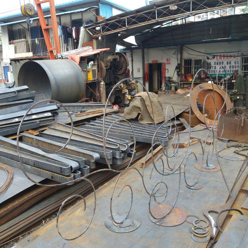云南钢板加工厂家焊接花架成品