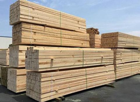 建筑木方安裝案例
