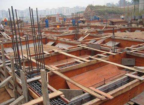 重慶建筑模板安裝案例展示