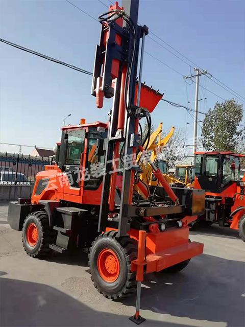 護欄打樁機施工時應該注意哪些安全技術措施?