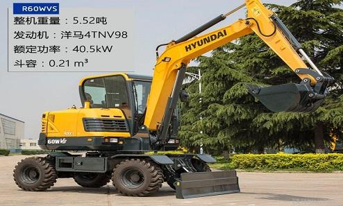 輪胎式挖掘機和履帶挖掘機的區別