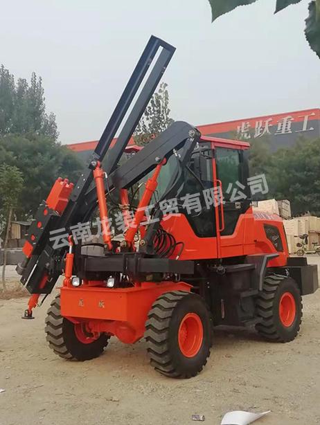 「公路打樁機」公路打樁機的作用及優點