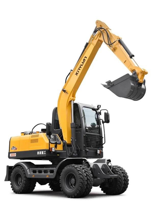 要想輪式挖掘機工作效率高,那得用對地方!