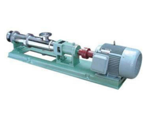 GS型整体不锈钢螺杆泵(可抛光)