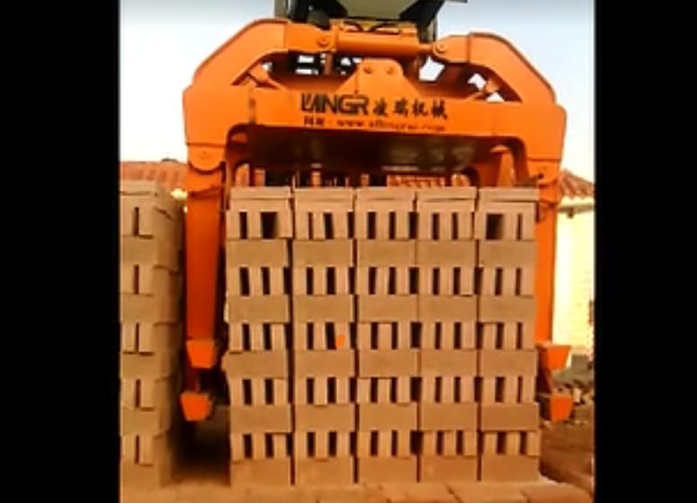 隧道窑5排-钟罩式6吨抱砖车