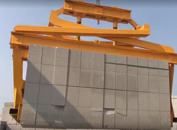 加气块砖吊夹抱砖机