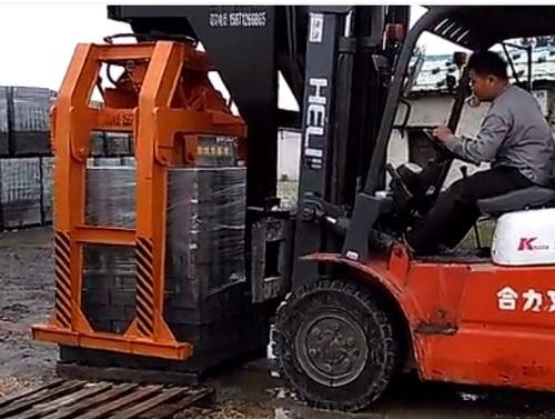 抱砖机维修拆卸前须弄清机械构造和工作原理
