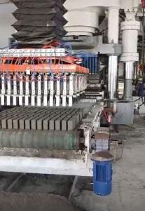 蒸養磚水泥磚碼垛打包系統