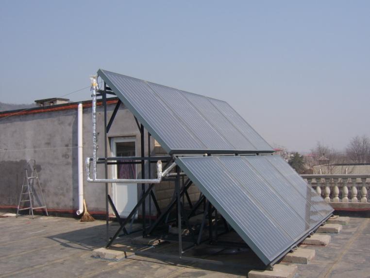 北京香山个人用户太阳能热水系统工程
