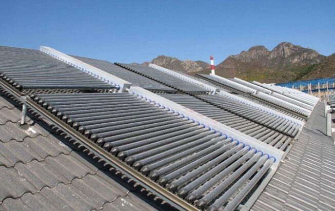 平板太阳能取暖
