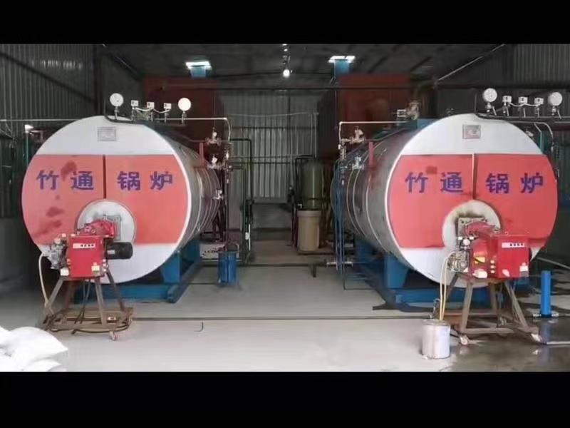 乐山卧式燃气蒸汽锅炉厂家与资阳市某公司合作成功