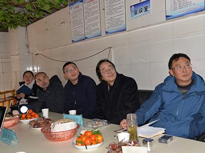 """贵州省气象局考核小组检查指导""""龙天防雷""""贵州分公司工作"""