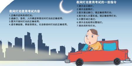 长沙考驾照科目三考试20%的学员将会抽到夜考长沙湘