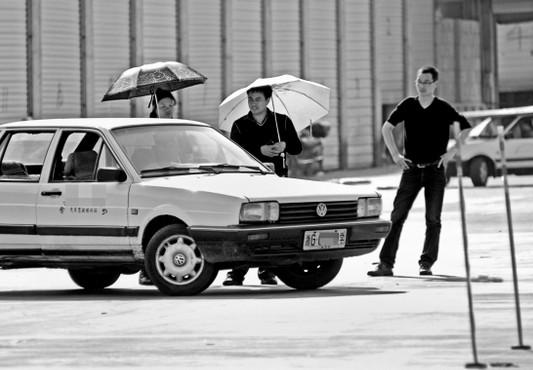 长沙学车驾校侧方位停车技巧