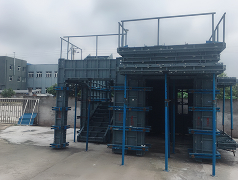 浅析关于重庆铝模板吊模安装巧加固!