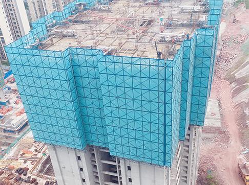 川江首府铝合金模板施工