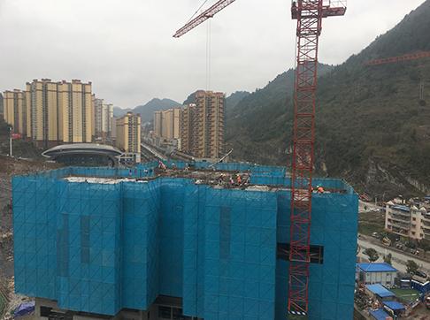 荆州之星建筑铝模运用