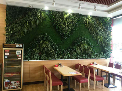 大型景观绿植墙