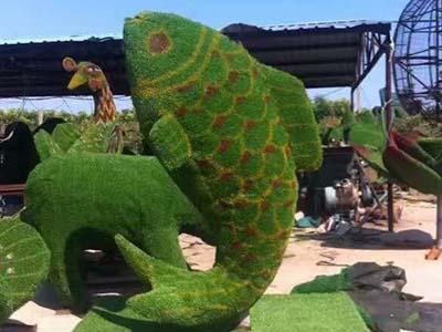植物雕塑景观