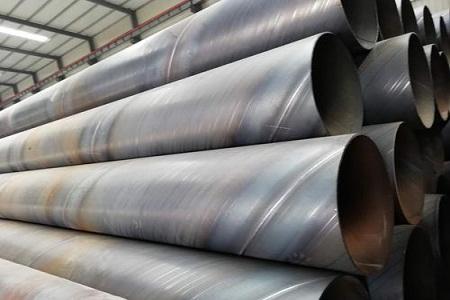 去除螺旋钢管表面的锈迹的几种方法