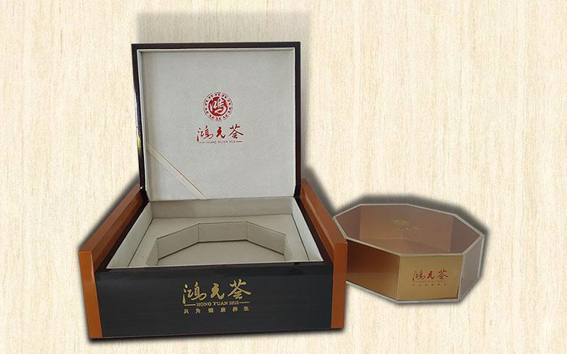 鴻元薈保健品包裝盒