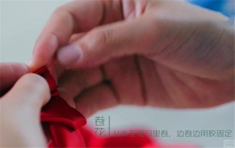 木盒玫瑰制作10