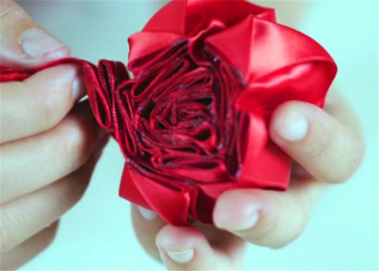 木盒玫瑰制作11