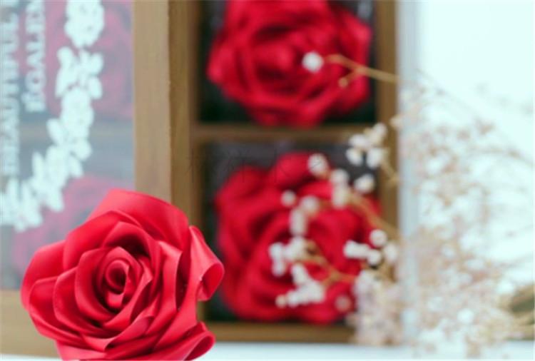 木盒玫瑰制作13