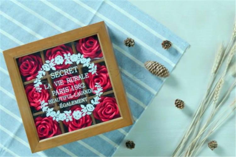 木盒玫瑰制作14