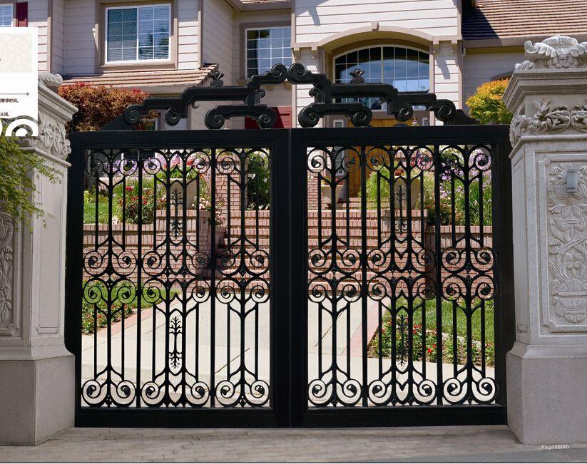 讲解一下铁艺大门的表面保护工艺