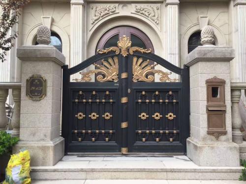 别墅庭院铝艺大门加装开门机应做好哪些准备呢
