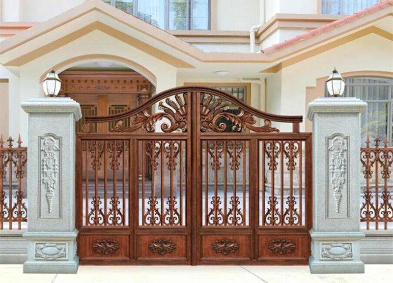 庭院铝艺大门的设计有哪些看点呢