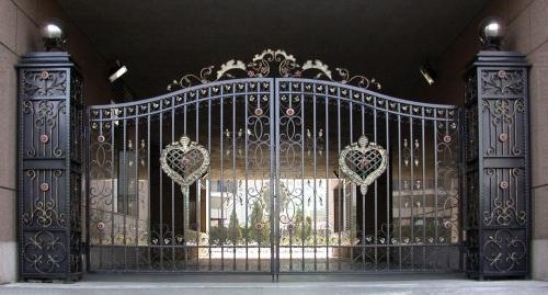 重庆欧式铁艺大门