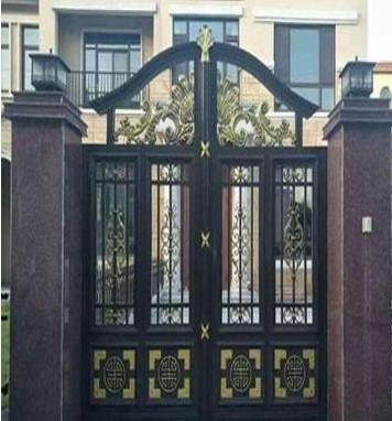 如何选择别墅铝艺大门的款式