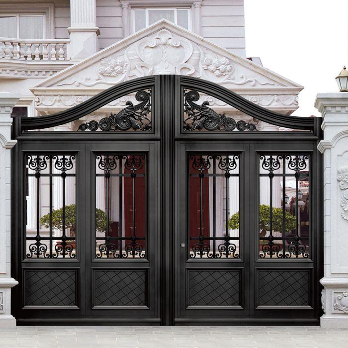 浅析油漆质量对影响铝艺大门使用寿命的影响