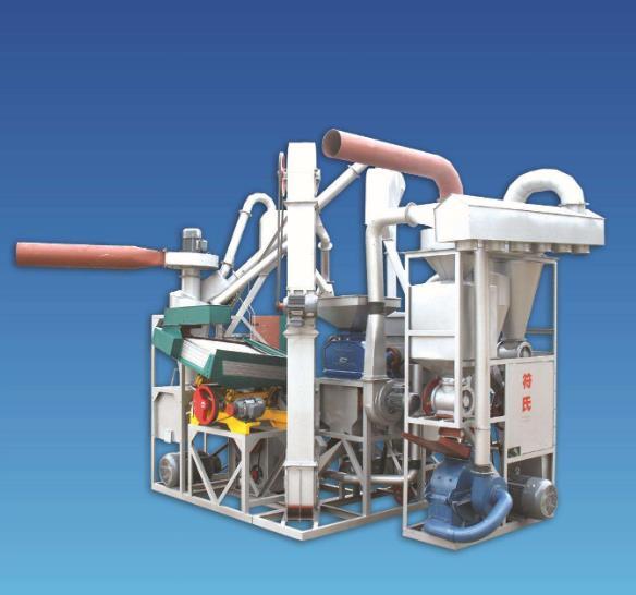 碾米机成套设备操作的简单流程