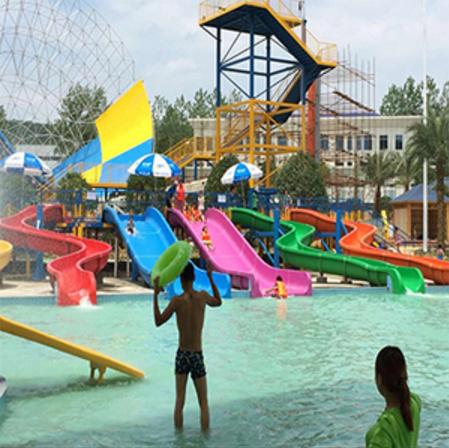 水上游乐园设备安装合理的位置